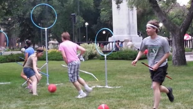 A group of Harry Potter fans in Regina have taken up the game of quidditch.
