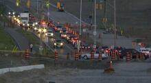 Highway 174 crash July 23 2014 highway closed