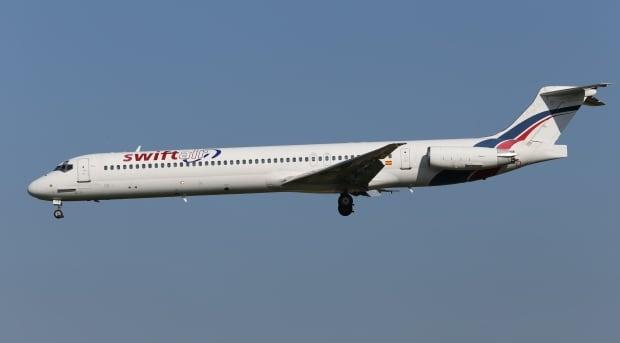 Belgium Algeria Plane