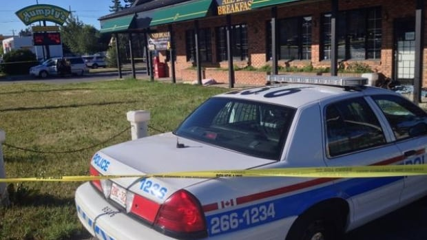 Police are investigating after a man's body was discovered Thursday morning in a northwest Calgary restaurant parking lot.