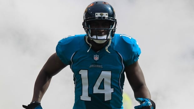 Jacksonville Jaguars wide receiver Justin Blackmon was a standout at Oklahoma State.