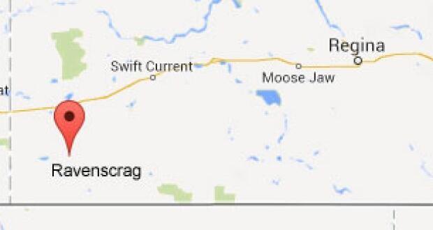Ravenscrag map
