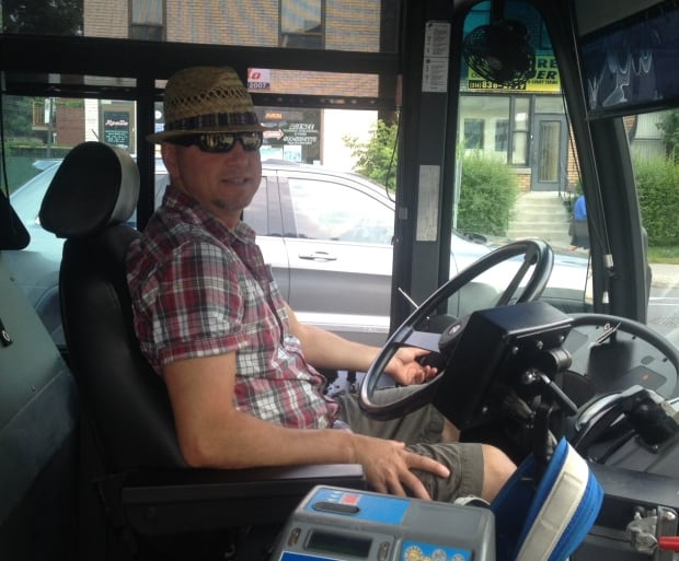 bus driver stm pension protest clothing