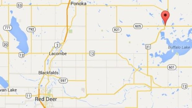 Alberta Health Services issued a health advisory after children were seen playing in fracking sand that was spilled near the train tracks in Bashaw, Alta., roughly 80 kilometres northeast of Red Deer.