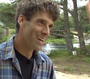 Darren Hudson lumberjack camp
