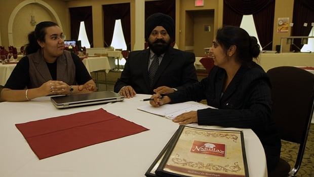 Jasmeet Lyall, Navdeep Narula and Amandeep Narula are founding members of the South Asian Canadian Chamber of Commerce. The chamber formed so south Asian business owners can support each other and be heard.