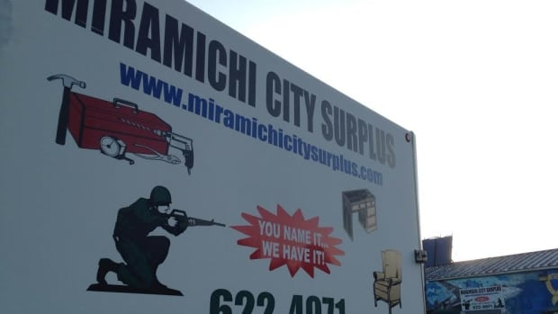 A raid resulting in charges against three men occurred at Miramichi City Surplus.