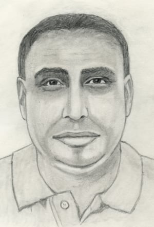 Peardonville Road sexual assault suspect sketch