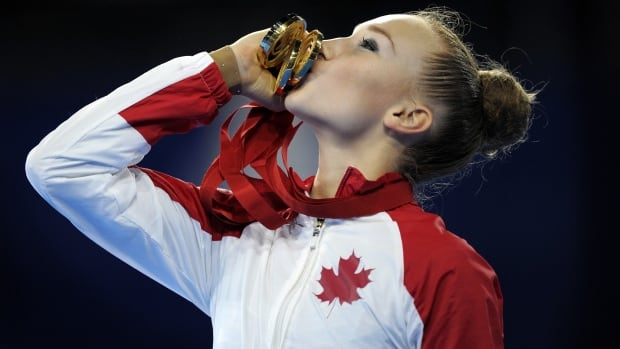 Canadian rhythmic gymnast Patricia Bezzoubenko was one of the stories of the Commonwealth Games, winning five gold medals and one bronze.