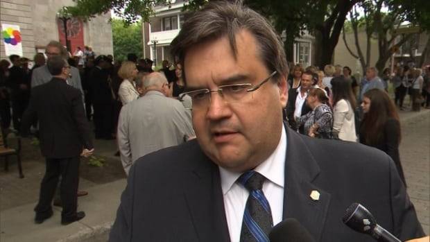 """Montreal Mayor Denis Coderre called the protest action that saw 100 police officers call in sick """"irresponsible."""""""
