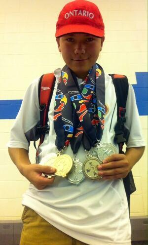 Tsista Kennedy Kitchener Waterloo Indigenous Games