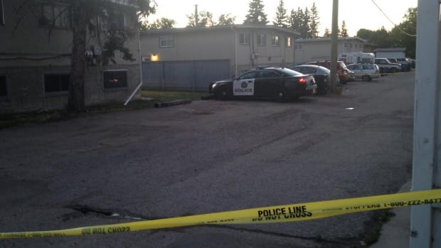 A man was taken to hospital after a shooting in Bowness early Monday morning.