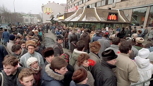 Russia McDonald's