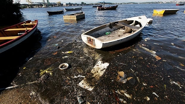 Guanabara Bay, the sailing venue for the 2016 Olympics, is polluted because 66 per cent of Rio's sewage flows in untreated.