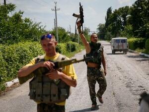 UKRAINE crisis soldiers