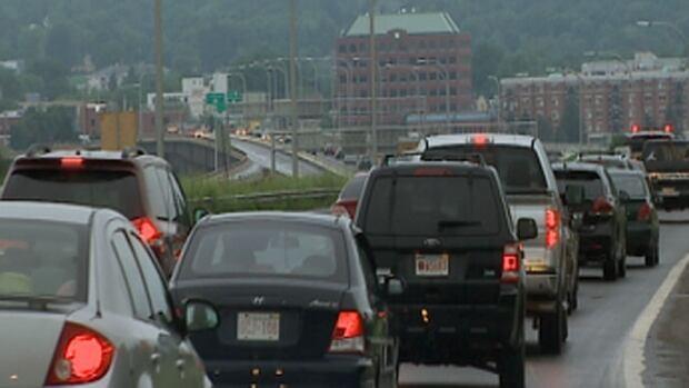 Fredericton traffic