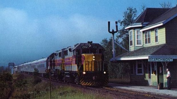 When it was active, the Searchmont Train Station was a busy stop on the Algoma Rail Line. Now, a society is in the process of purchasing the station, with the goal to restore it and convert it back into a working station.