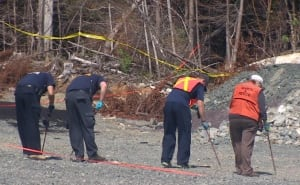 Search in Paradise near where Robert Pitcher's body was found