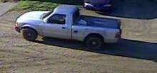 white truck vernla livestock