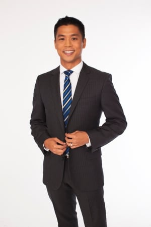 CBC News host Andrew Chang