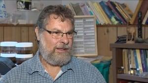 Fredericton researcher Reginald Webster