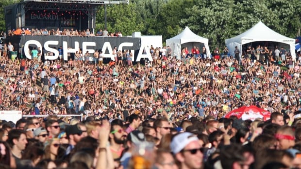 Festival organizers expect more than 130,000 people will descend on Parc Jean Drapeau this weekend for the Osheaga Music and Arts Festival.
