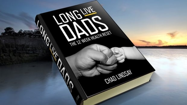 "The cover of Chad Lindsay's ebook ""Long Live Dads"". It sets out a 12 week lifestyle program for men aged 35 to 45."