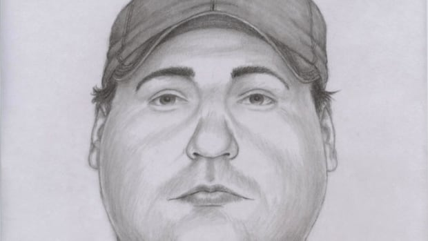 This police sketch shows what the man looks like.
