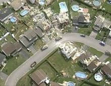 Aylmer tornado damage