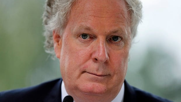 Former Quebec premier Jean Charest says Quebec's English community has to be assertive in what it stands for.