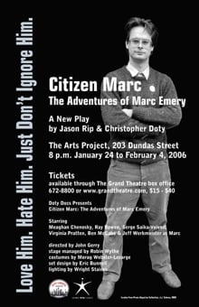 Citizen Marc - Emery play