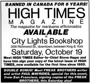 High Times ad