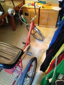 tricycle found