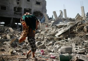 Gaza cleanup amid ceasefire