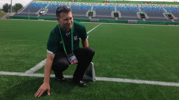 Stéphane Delisle, the venue general manager, said the organizers will have everything ready when the U20 women's World Cup starts next week.