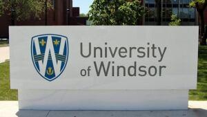 University of Windsor Sidewalk Sign