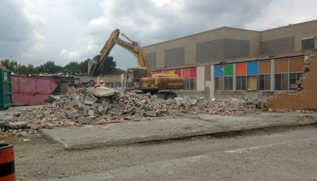 HD Taylor demolition one