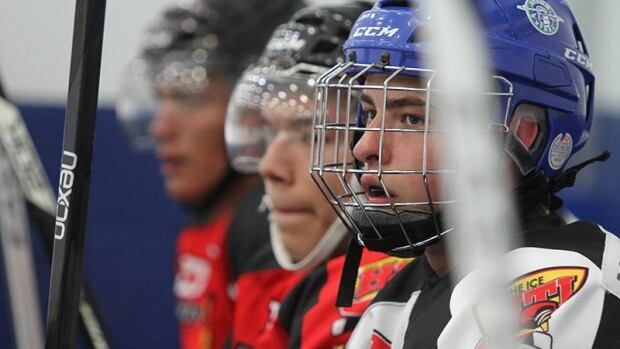 Players from across Canada come to take part in the show and to be seen by hockey scouts.