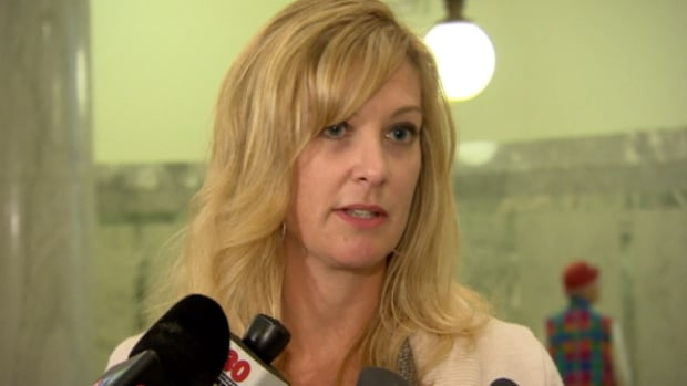 Kathleen Range, a spokeswoman for Premier Dave Hancock, was sent out to respond to media questions about former premier Alison Redford's use of government planes.