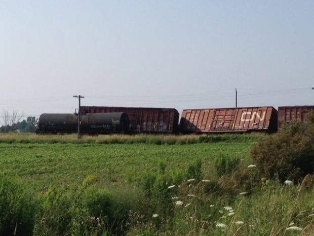 CN derailment gananoque