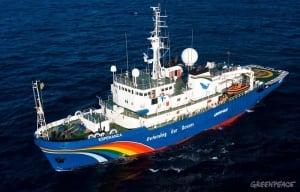 Esperanza Greenpeace ship