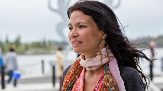 Michelle Thrush and her daughter, along with British actor Emma Thompson, embarked on a 10-day trip on Thursday as part of Greenpeace's Save The Arctic campaign.