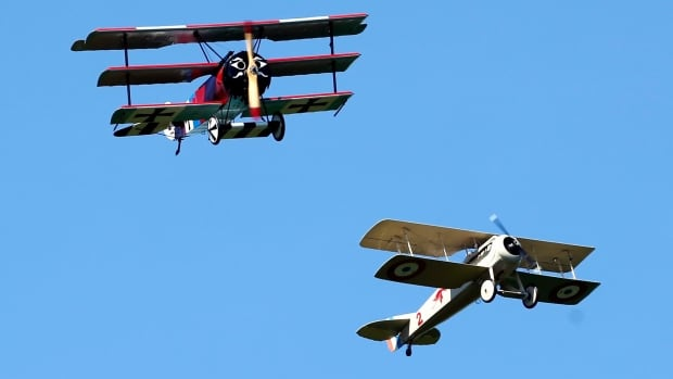 A new exhibit at the Alberta Aviation Museum will honour the Alberta pilots who fought in World War 1 using planes like the Fokker DR-1 tri-plane and Spad VII bi-plane.