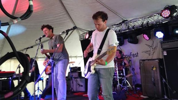 The Constantines were the headliners at this year's SappyFest