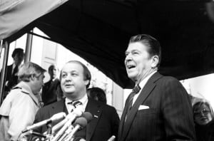 James Brady-Ronald Reagan-death