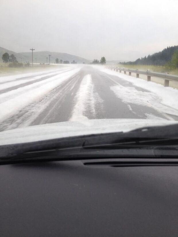 Longview hail