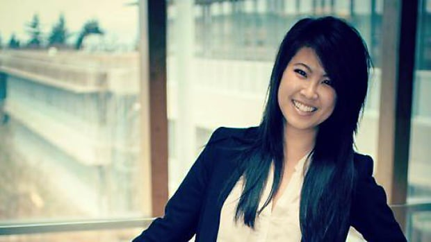 Friends have identified the victim in Monday morning's hit-and-run collision as Ovey Yeung, a Vancouver communications consultant.