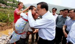 China Earthquake Premier Li Keqiang