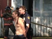 Roof guy arrested