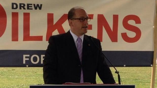 One political expert calls Drew Dilkens the first serious candidate for mayor of Windsor.
